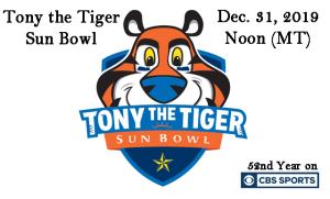 Tony the Tiger Sun Bowl