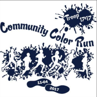 Community 5K Color Run hosted by Girl Scout Troop #1797