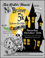 3nd Annual Chris Kreilick's Memorial No Brainer 5K Halloween Run/Walk