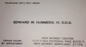 Edward W Hummers IV DDS