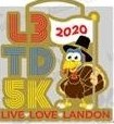 The First & Hopefully Only: Virtual L3 Turkey Day 5K