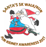Santa's 5k Run/Walk For Kidney Awareness