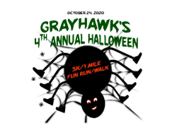 Grayhawk's 4th Annual Halloween 5K/1 Mile Fun Run/Walk