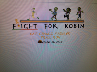 Fright For Robin Fat Chance Farm 5K Trail/Obstacle Run