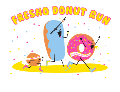 The Fresno Donut Run