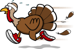 Byron Park District Turkey Trot 5K Run