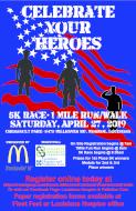 Celebrate Your Heroes 5k & 1mile run/walk