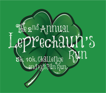 3rd Annual Leprechaun's 5k, 10k, Challenge, and Kid's Fun Run