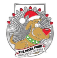 The Pixel Fund's Holiday Shelter Pet Shuffle Virtual 5K
