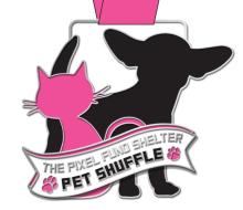 The Pixel Fund's Holiday Shelter Pet Shuffle 5K Fun Run/Walk