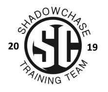 2018/2019 Shadowchase Training Team