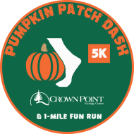 Crown Point Pumpkin Patch Dash 5K Run/Walk & 1-Mile Kids Run