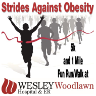 Strides Against Obesity 5 K and 1 Mile Fun Run/Walk