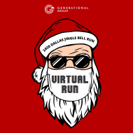 2020 VIRTUAL GENERATIONAL GROUP DALLAS JINGLE BELL RUN