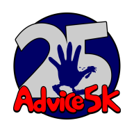 25th Running of the Annual ADVICE 5K Turkey Trot