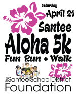 Santee Aloha 5K Fun Run & Walk 2018