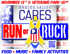 Brazos Valley Cares 5K Run or Ruck