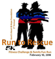 Run To Rescue 5k Run/Walk Fitness Challenge & 1 Mile Family Fun Run Event