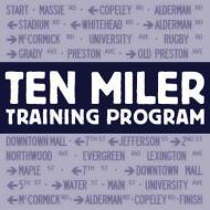 Charlottesville Ten Miler Training Program