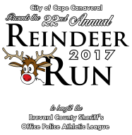 Cape Canaveral Reindeer Run 5K