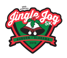 Active Auburn Jingle Jog 5k and Santa Stroll Fun Run