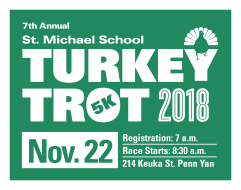 St. Michael School 7th Annual 5K Turkey Trot