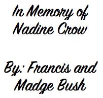 Francis and Madge Bush