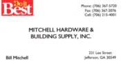 Mitchell Hardware and Building Supply, Inc.