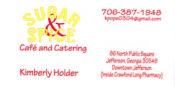 Sugar and Spice Cafe and Catering