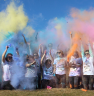 Rider University Greek Life 5K Color Run