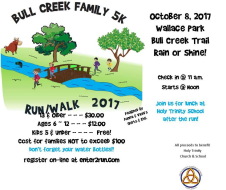 Bull Creek 5K Family Walk/Run