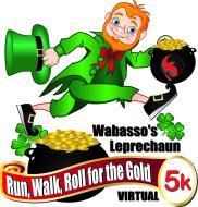 Wabasso Leprechaun Run, Walk, and Roll for the Gold Virtual 5K