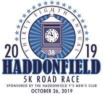 38th Annual Haddonfield Y's Men 5K Road Race