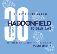 38th Annual Haddonfield Y's Men 5K Road Race
