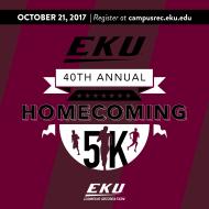 EKU Homecoming 5K Fun Run