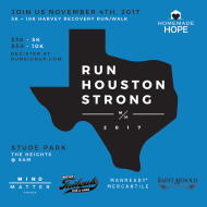RUN HOUSTON STRONG - November 4th, 2017