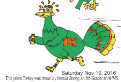 RRRC Volunteers for King William Turkey Trot 5K - Twin Rivers Road Runners