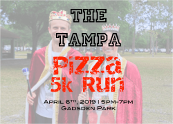 2nd Annual Tampa Pizza 5k Run