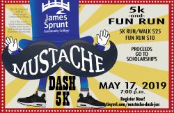 JSCC Mustache Dash 5K/Fun Run