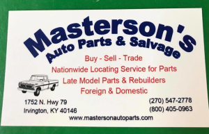 Masterson's Auto Parts & Salvage