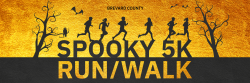 Spooky 5K Run/Walk - VIRTUAL ONLY DUE TO COVID-19 CONCERNS