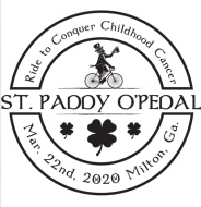 St Paddy O'Pedal Ride To Conquer Childhood Cancer 2021