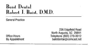 Dr. Robert J. Buist, DMD