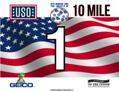 USO Ten Miler, 5K, and Free Fun Run