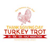 Five Star Thanksgiving Turkey Trot 5K, 10K, 15K, & Half Marathon