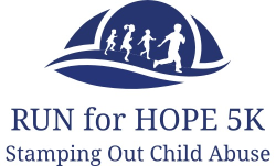 RUN FOR HOPE STAMPING OUT CHILD ABUSE 5K FAMILY FUN RUN/WALK SATURDAY,  SEPTEMBER 21, 2019