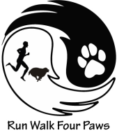 Run Walk Four Paws