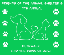 7th Annual Run/Walk for the Paws 5K 2021