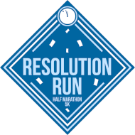 Resolution Run Half Marathon and 5k
