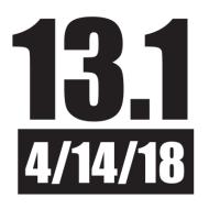 2018 Half Marathon Unplugged